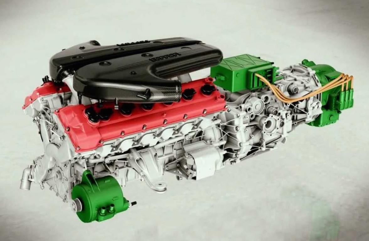 Гибридный мотор Ferrari