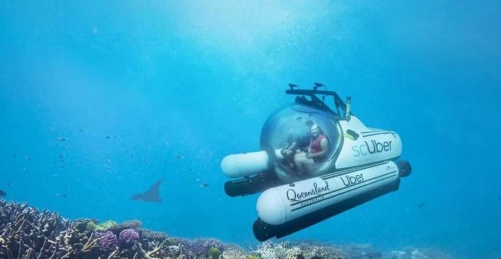 Подводное такси от компании Uber