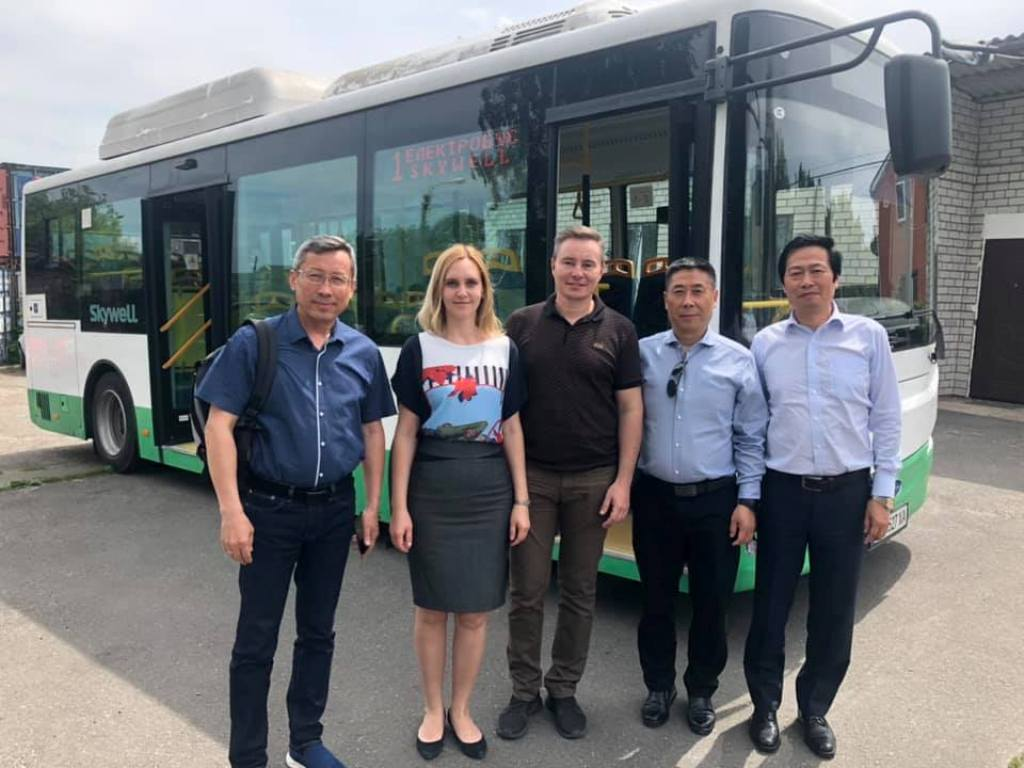 В Украине запустят производство электробусов