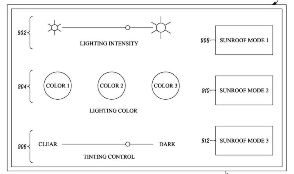 Tesla добавила «прозрачный слой освещения» со светодиодами внутри