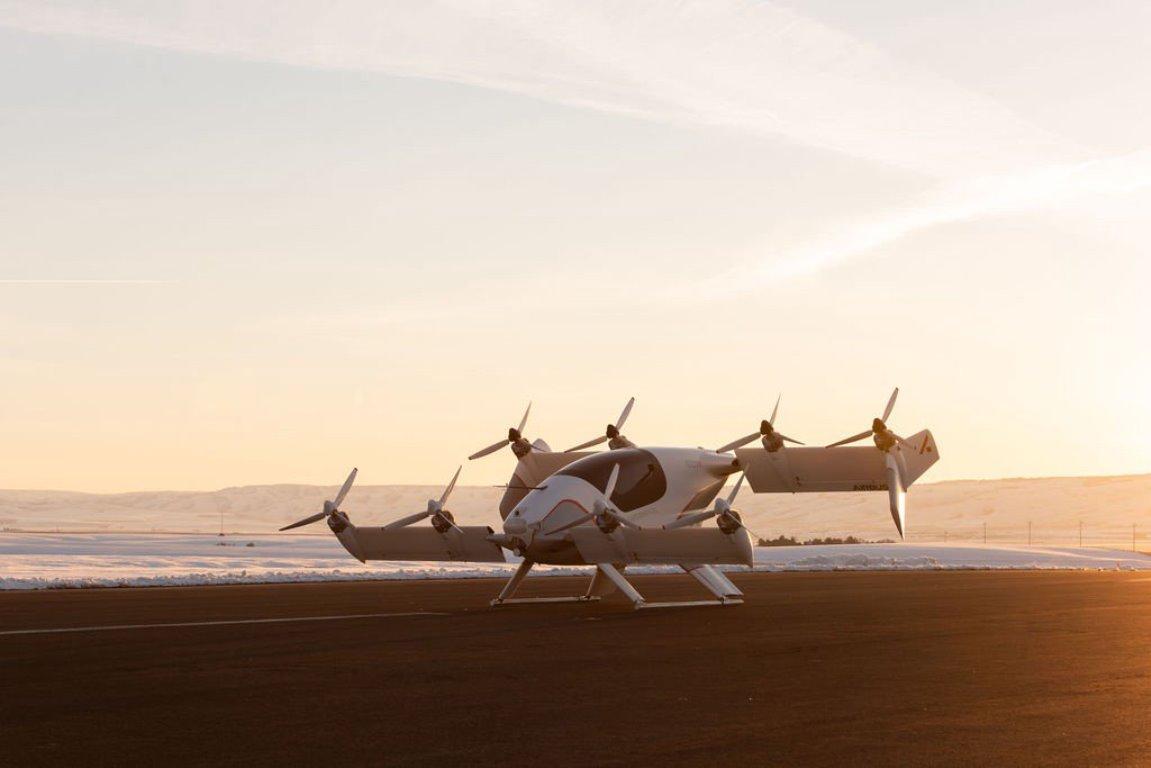 Airbus представил летающий автомобиль на каждый день