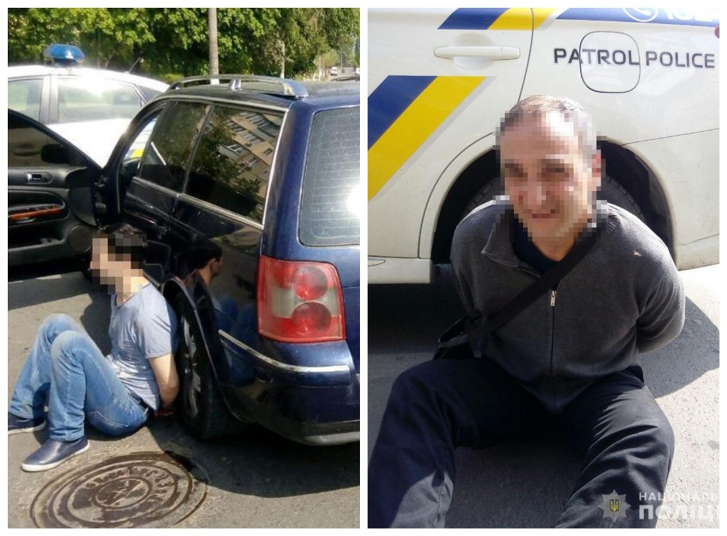 В Днепре задержали двух автоворов