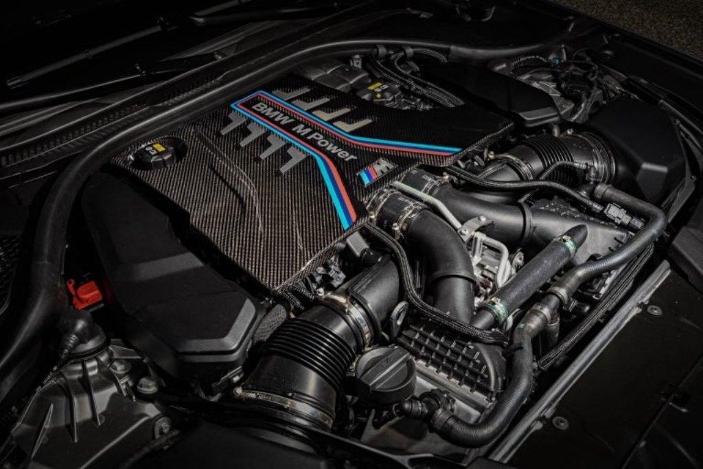 Мощность BMW M5 F90 Competition составила 617 л.с.