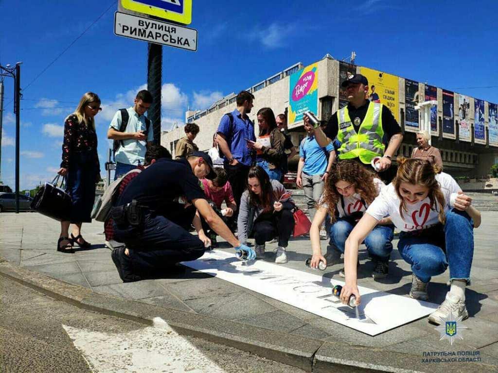 """Полицейские провели акцию """"Ответственный пешеход"""""""