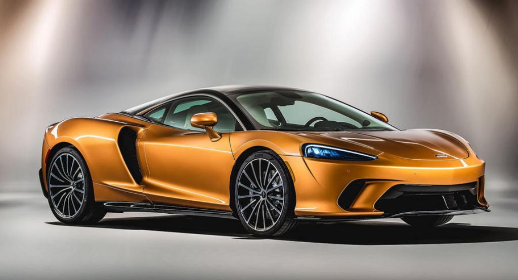 Новый спорткар McLaren GT