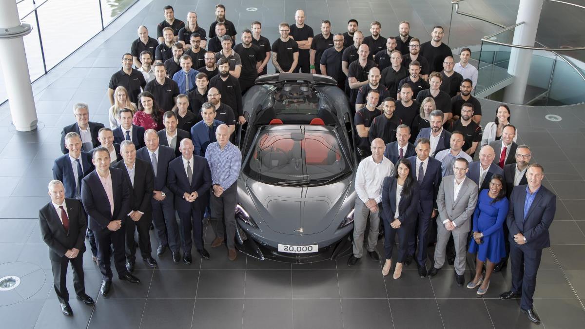 20-тысячный McLaren 600LT Spider