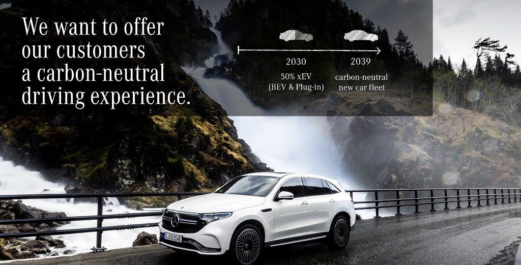 К 2039 году Mercedes-Benz прекратит выпуск автомобилей с ДВС и перейдет на модели с нулевыми выбросами