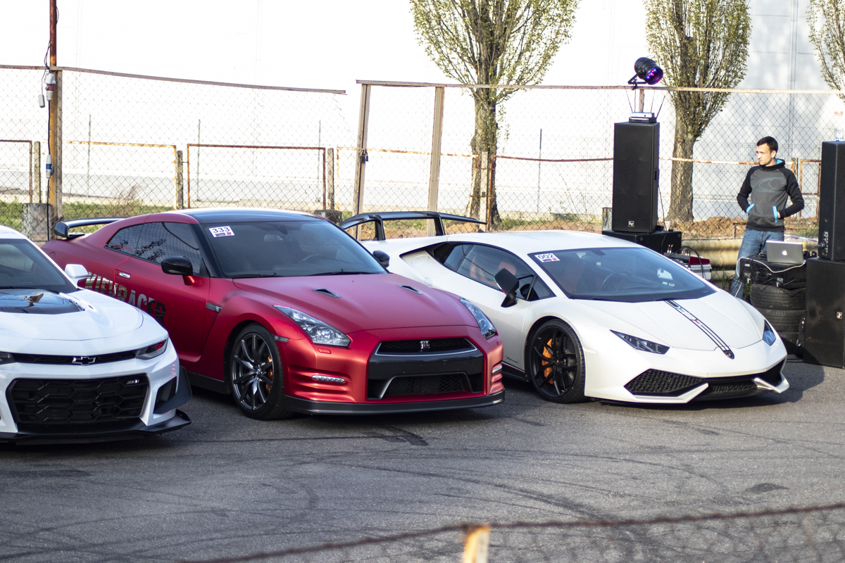 В последнее время Lamborghini не редкость