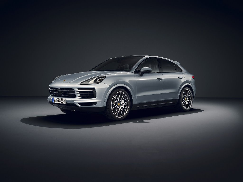 Porsche представил Cayenne S Coupe