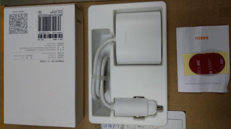 Разветвитель для сигаретного прикуривателя Xiaomi Roidmi