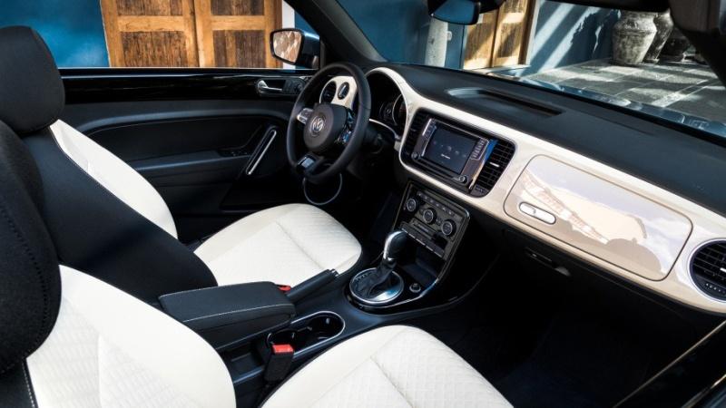 Салон Volkswagen Beetle Final Edition