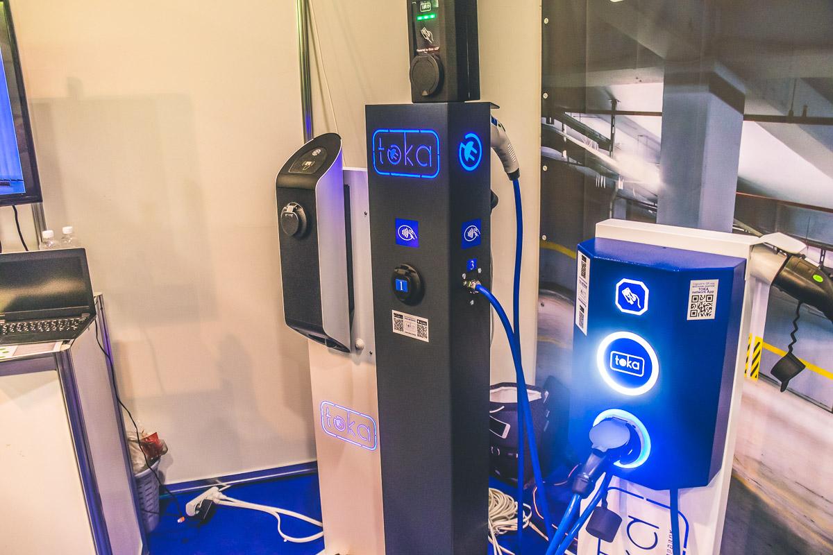 Зарядные устройства сети Toka