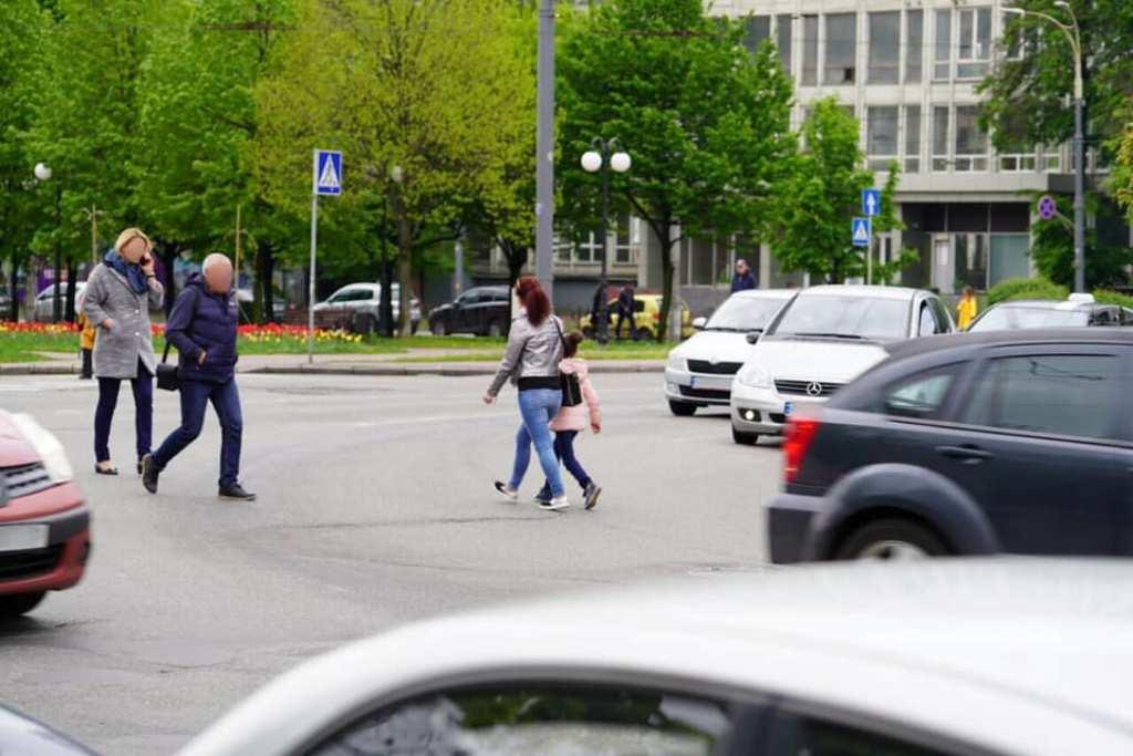 В первом квартале 2019 года произошло 2033 ДТП с участием пешеходов