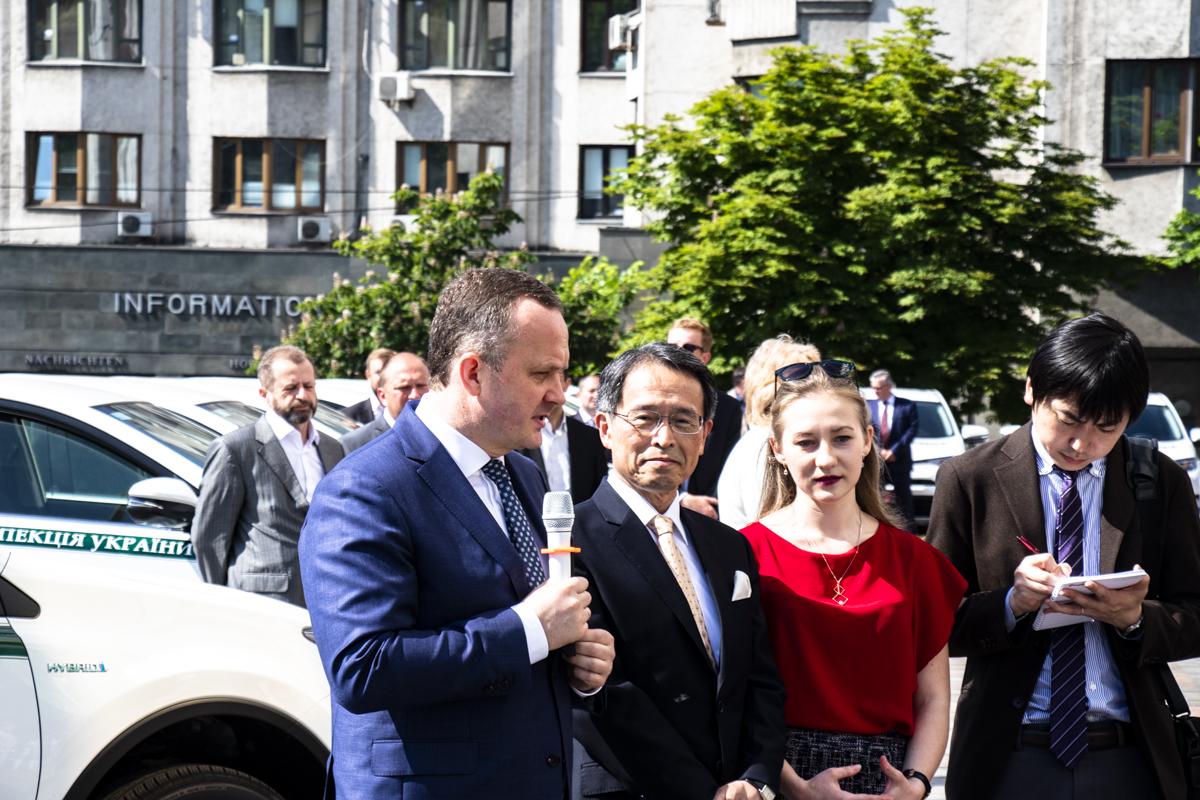 Мероприятие посетил Такаши Кура - посол Японии в Украине