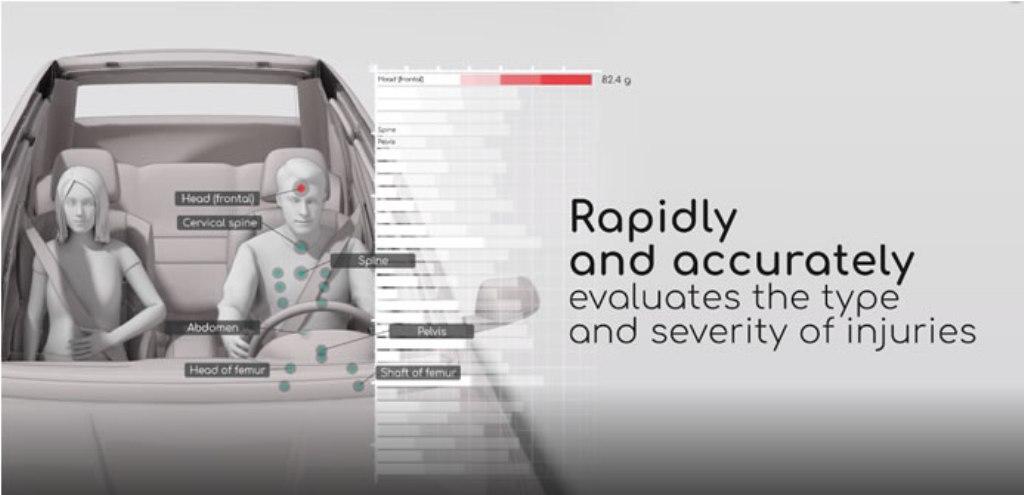Система анализа травм MDGo будет оповещать медиков о вероятных травмах пассажиров после ДТП