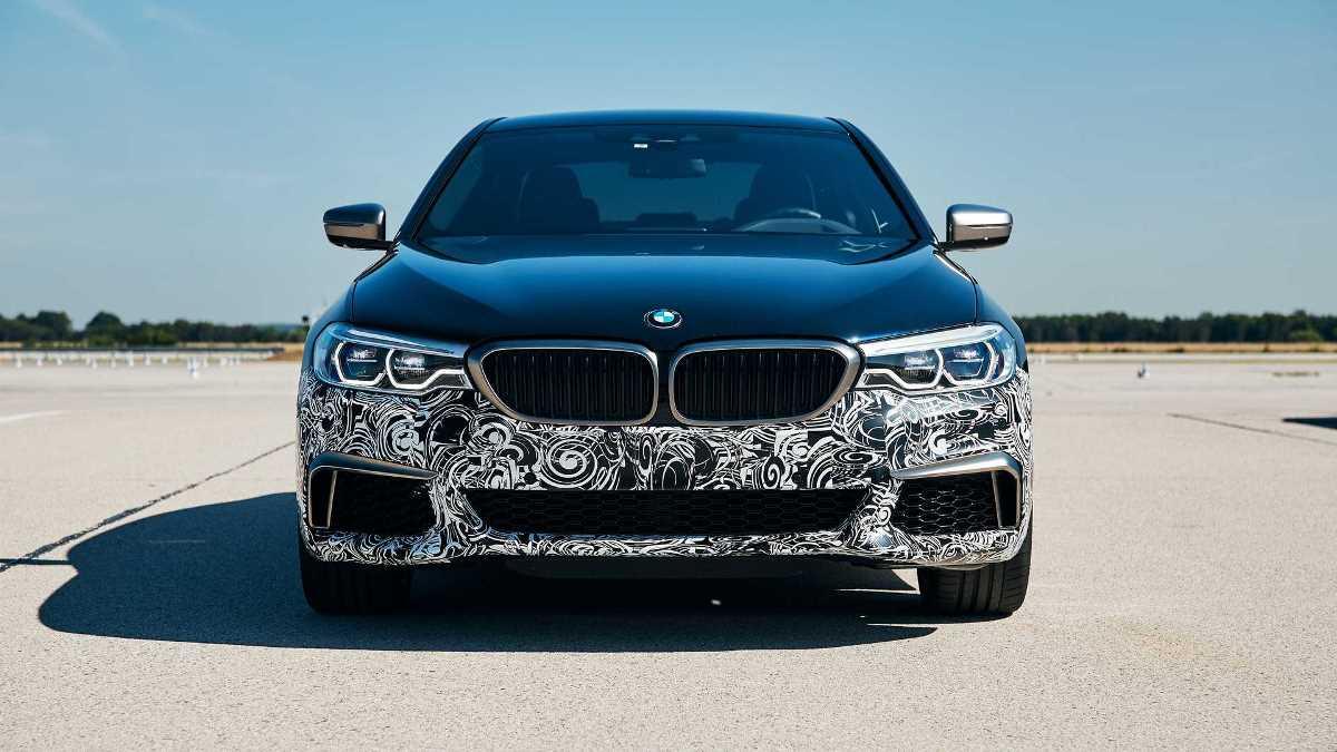 BMW запустила пробную электрическую модель с сумасшедшей мощностью
