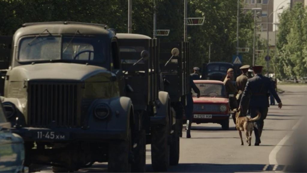 ГАЗ-63 и ВАЗ-2101