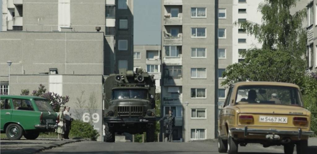 Москвич-2137, ВАЗ-2103 и ЗИЛ-131