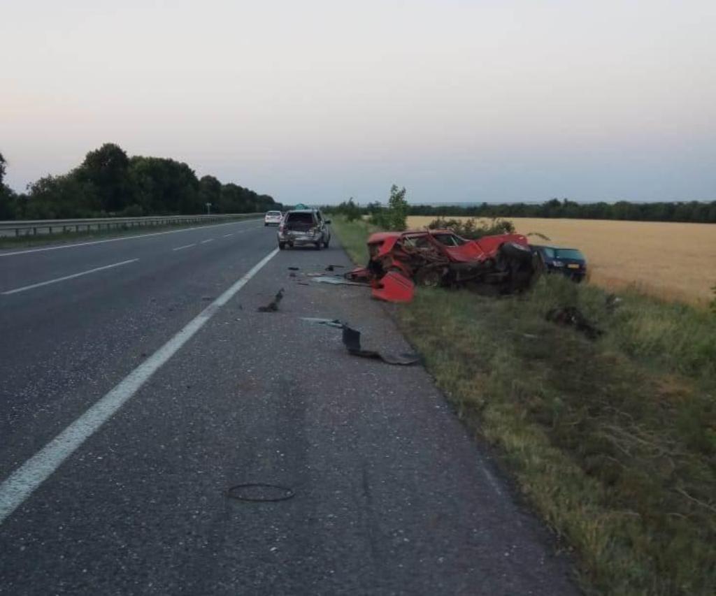 ДТП произошло 17 июня на трассе Киев-Одесса