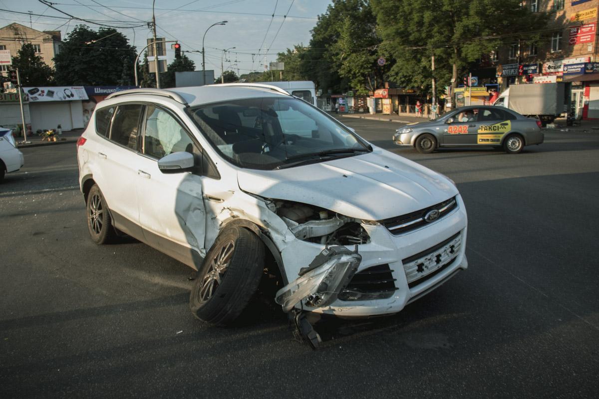 ДТП произошло во время погони полицейских за нарушителем