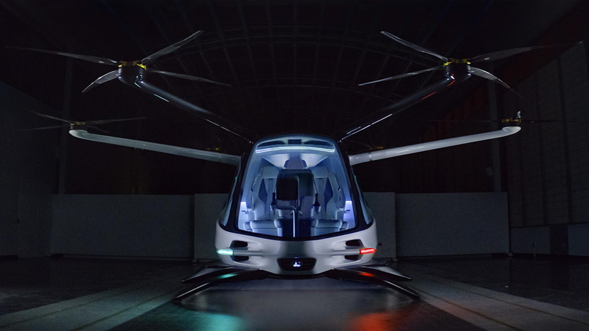 BMW приняла участие в разработке летающего авто