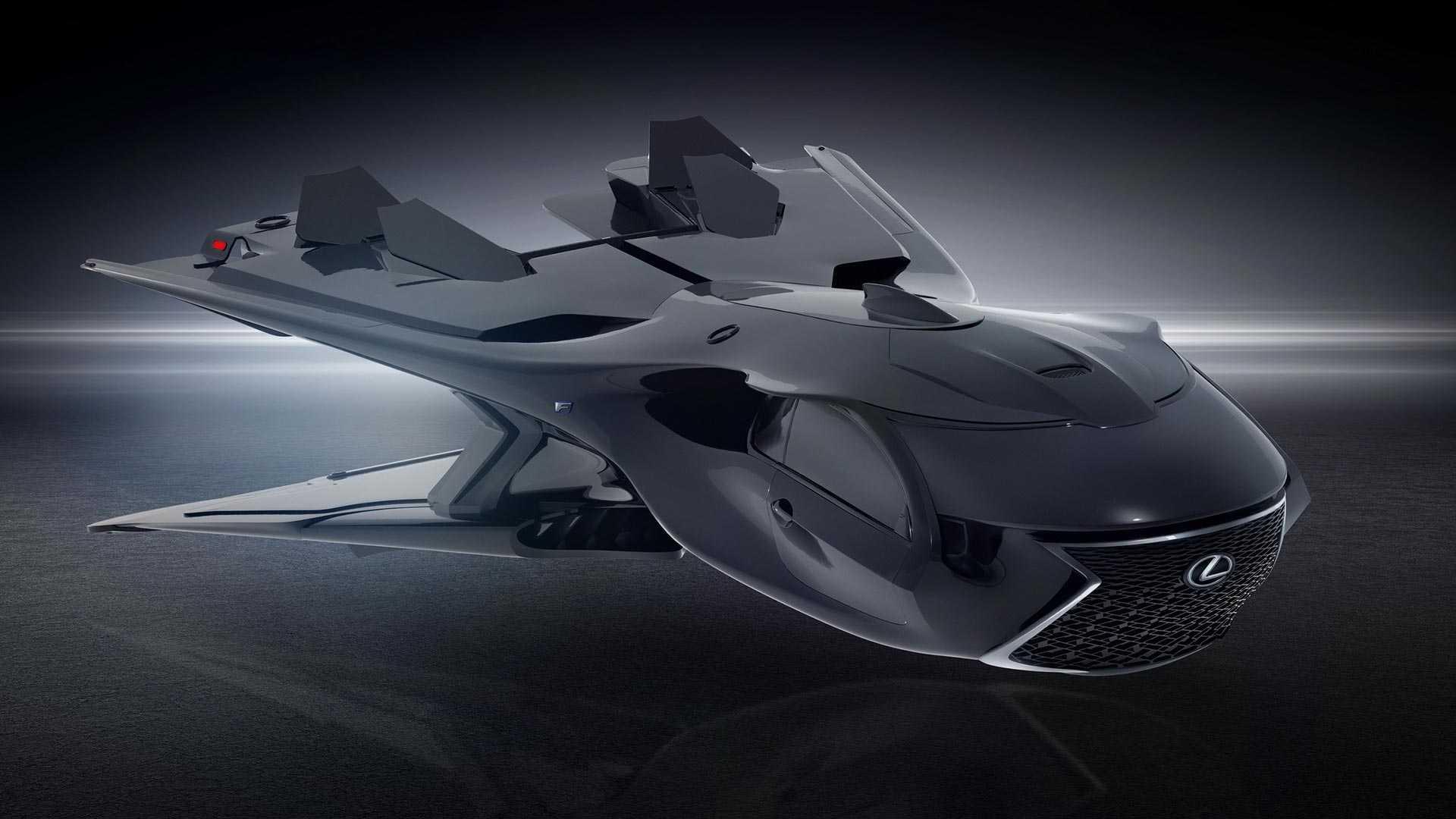 Компания Lexus разработала летающий корабль