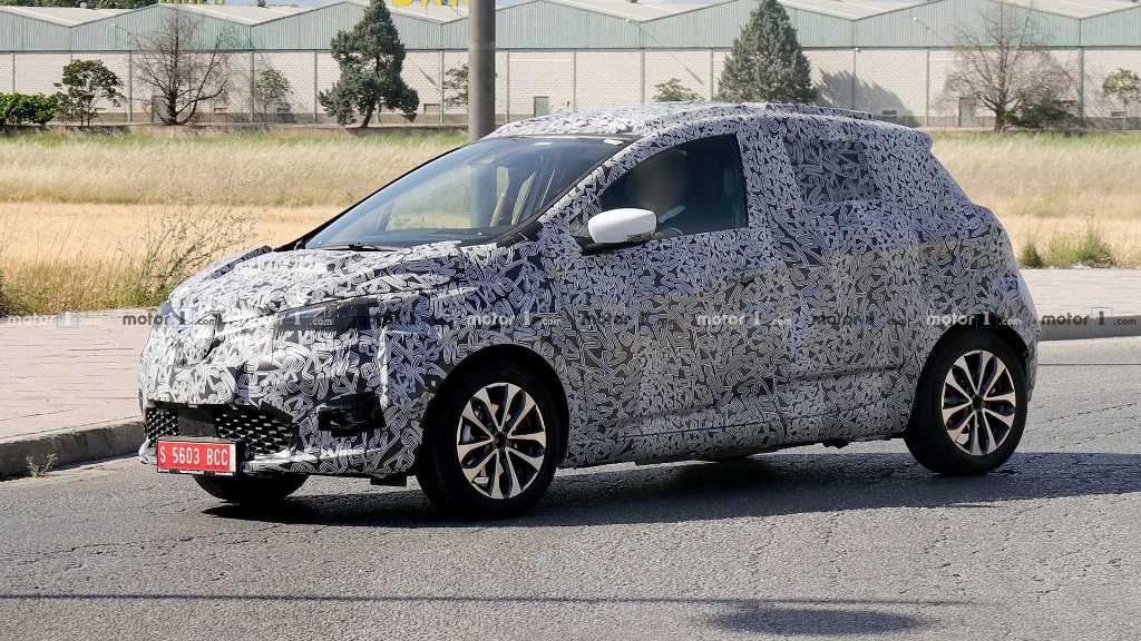 Renault Zoе второго поколения представят через две-три недели