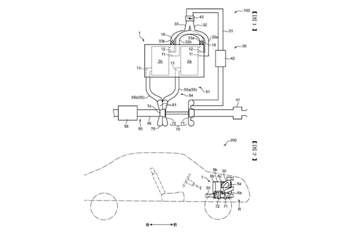 Mazda запатентовала новый роторный двигатель