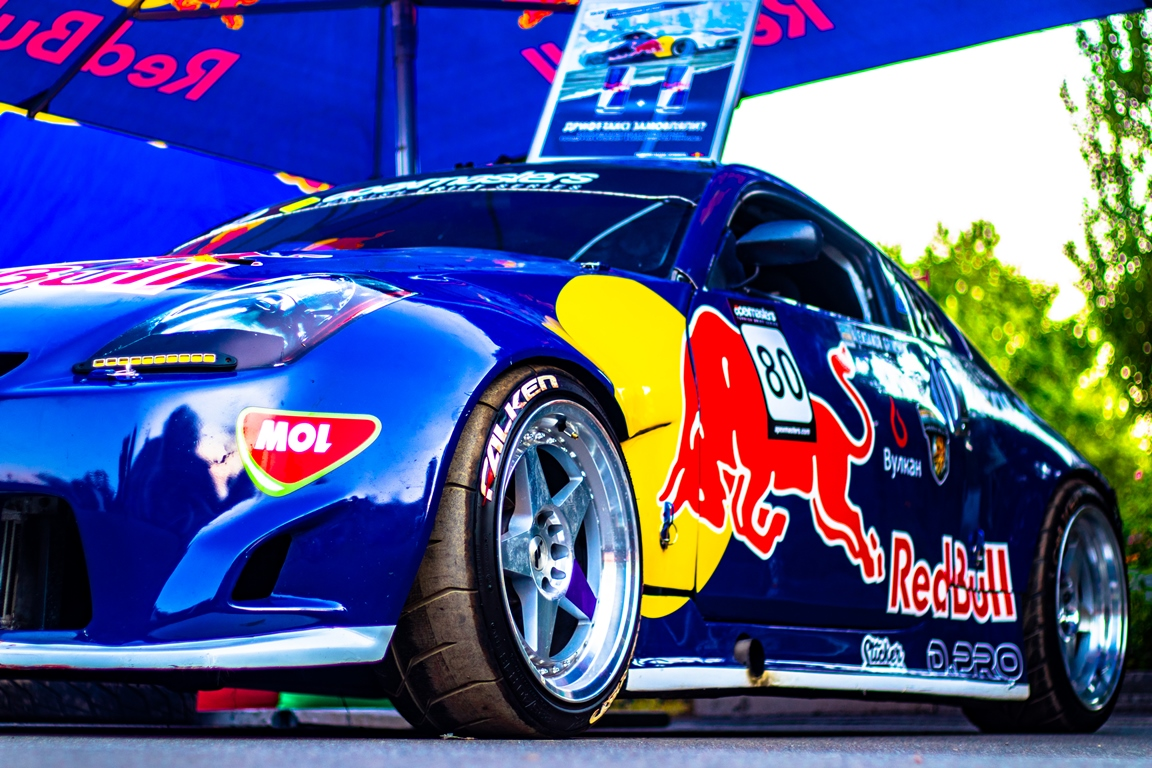 350Z от команды Red Bull
