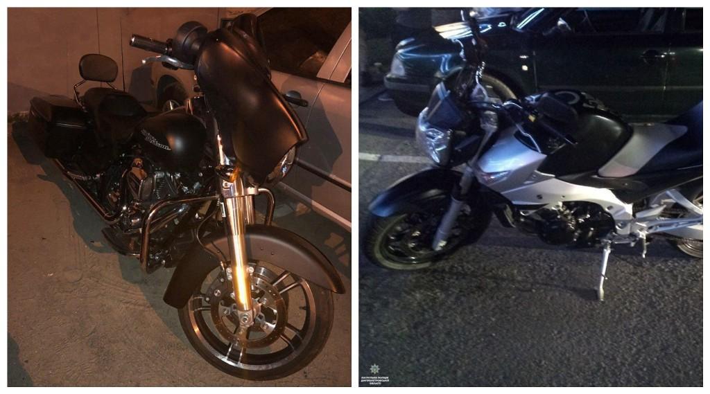 Мотоциклы марки Harley-Davidson и Suzuki были угнаны в Италии