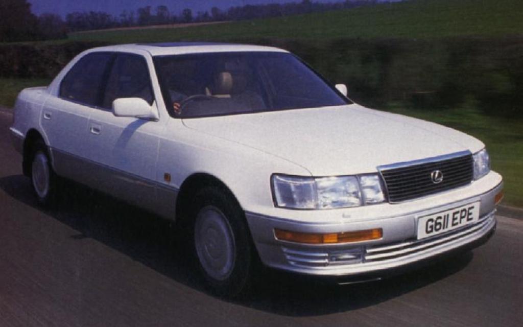 Первый тест-драйв Lexus LS