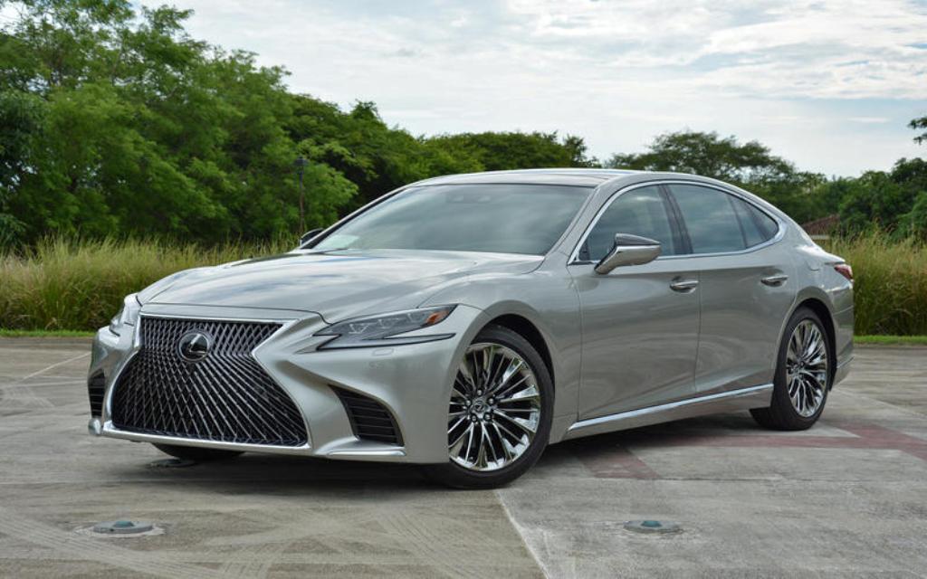 Lexus LS 2019 года