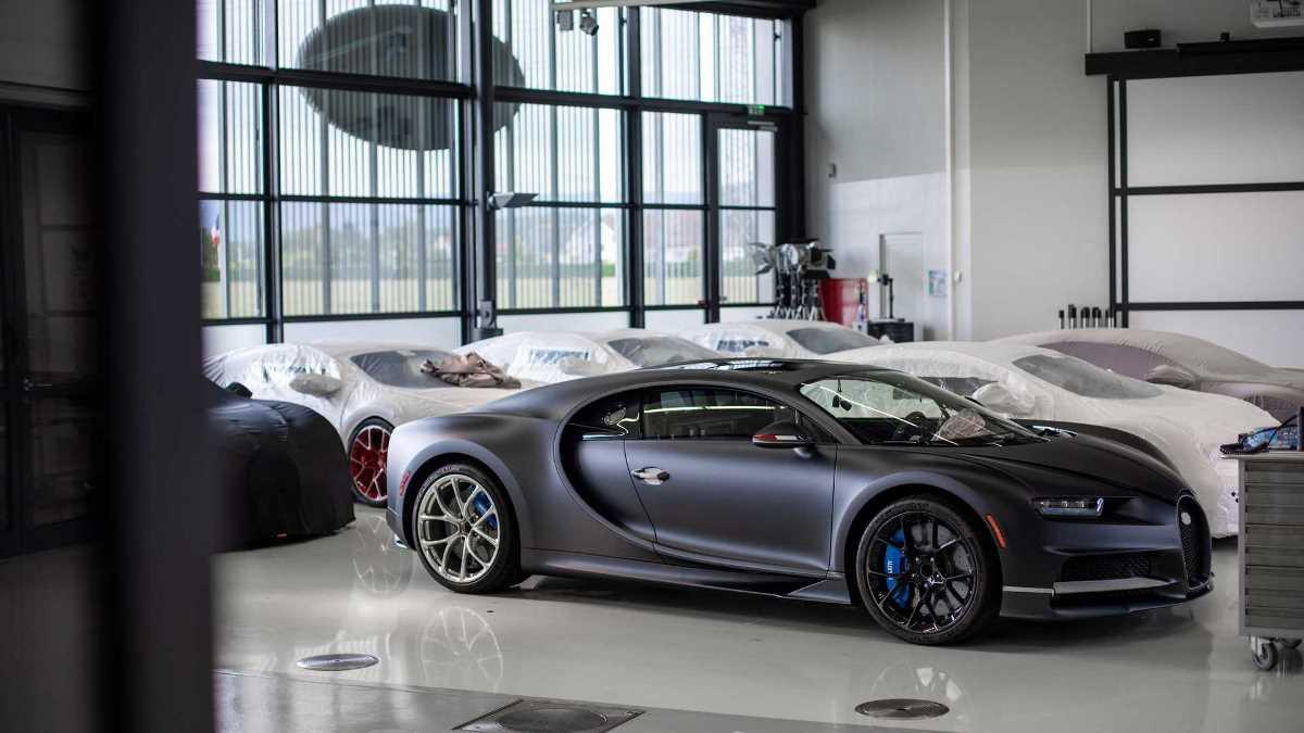 Bugatti выпустила 200 экземпляр Chiron