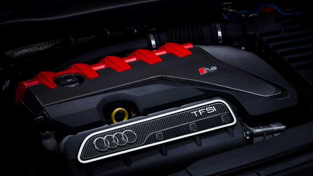 Инженеры Audi приведет 2,5-литровый 5-цилиндровый мотор в соответствие с нормами СО2