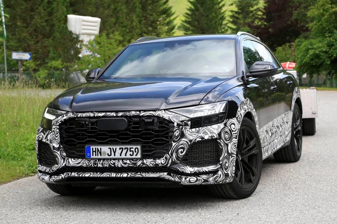 Audi готовит RS Q8 к выходу на рынок
