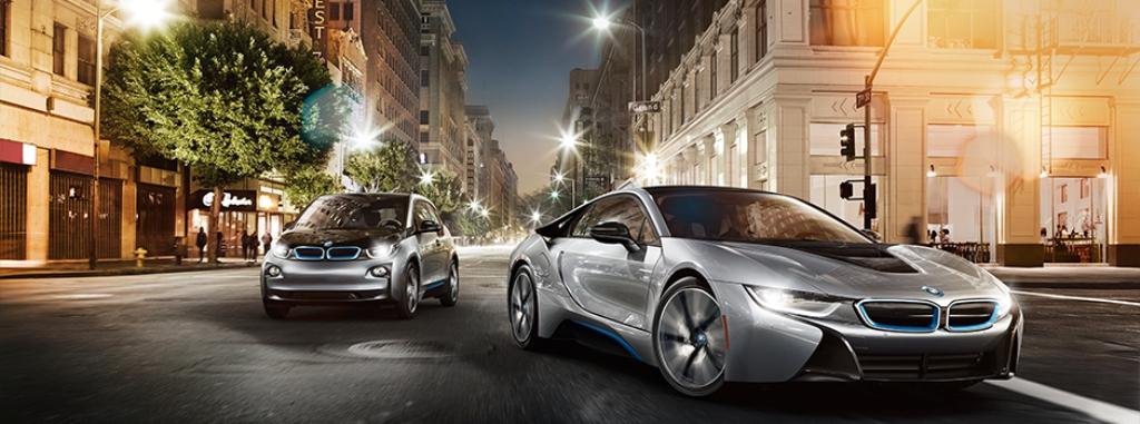 BMW стали модели i3 и i8