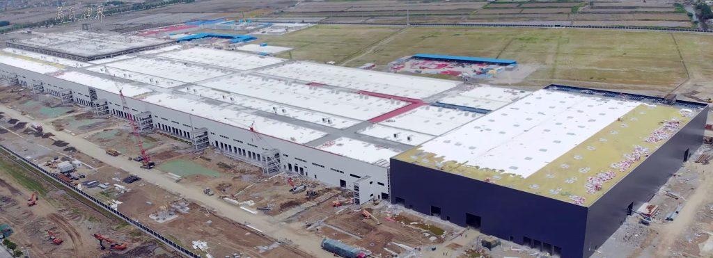 Gigafactory 3 откроют в ноябре 2019 года