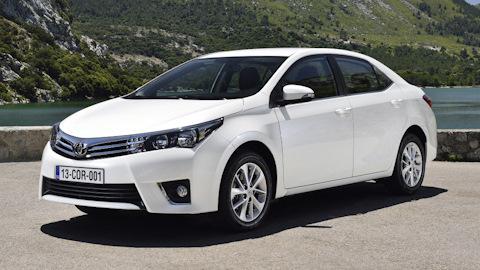 Мировой лидер Toyota Corolla