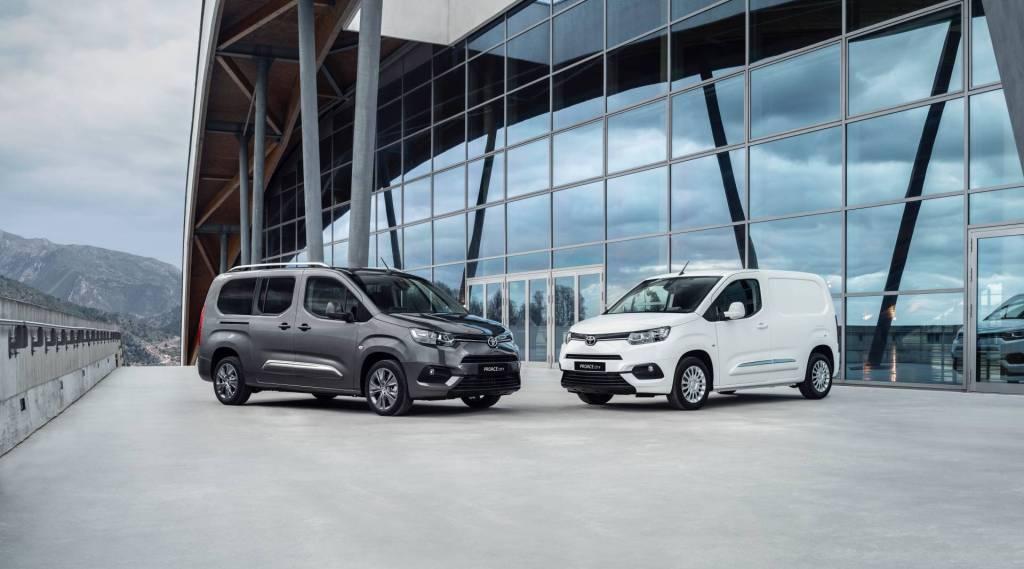 Toyota Proace City и Proace получат электрические версии