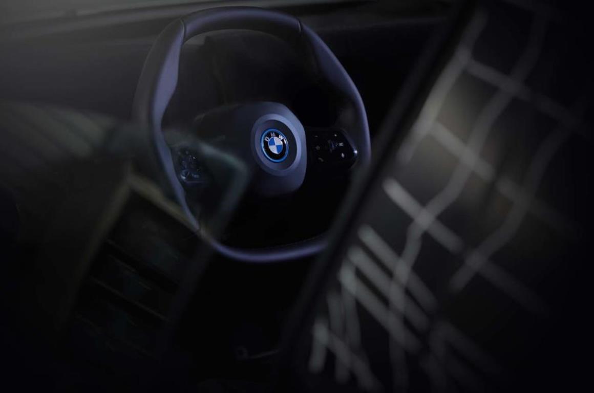 Новый руль от компании BMW для электрокара iNext