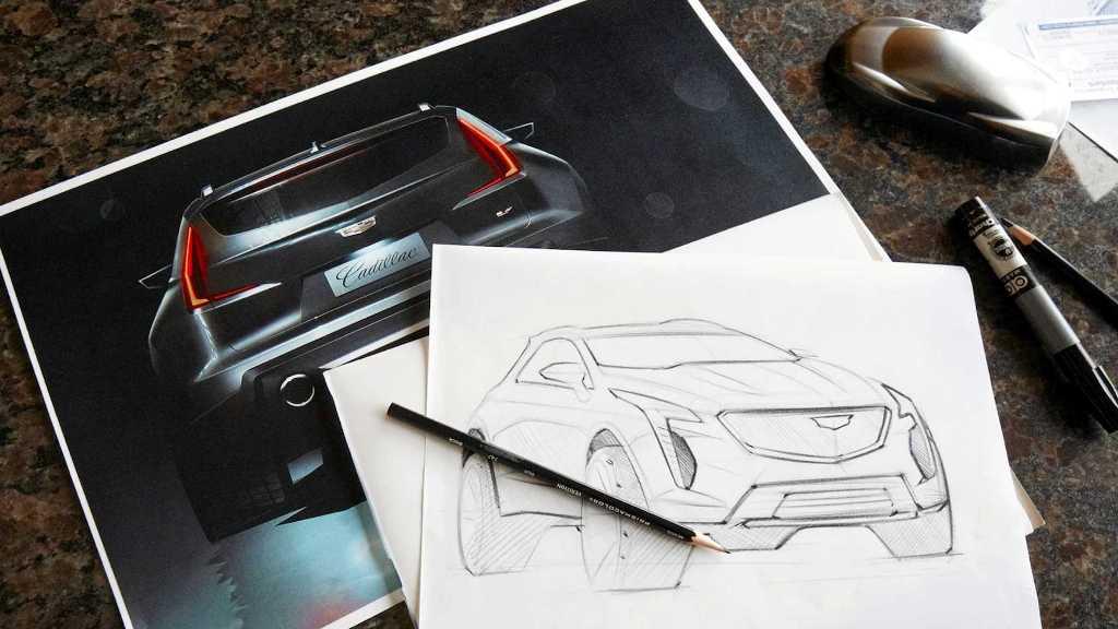 """Cadillac планирует пополнить свою линейку новым """"заряженным"""" кроссовером XT4-V"""