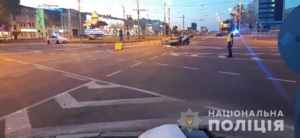 Авария произошла 14 июля около 2:00 на Московском проспекте