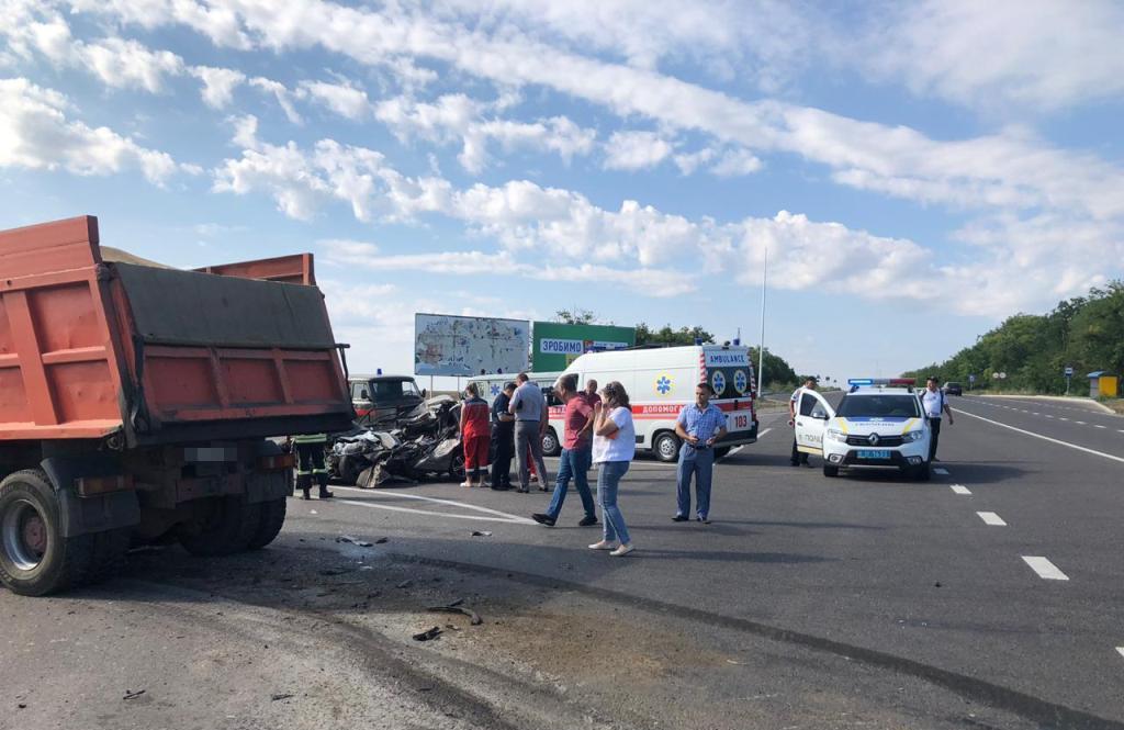 18 июля около 9:00 столкнулись автомобиль Volkswagen и грузовик MAN