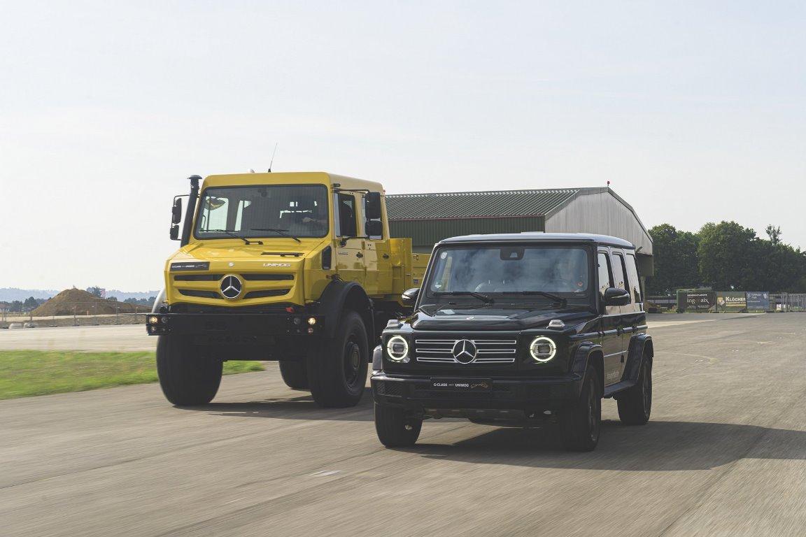 В этом году Mercedes-Benz G-Class исполнилось 40 лет