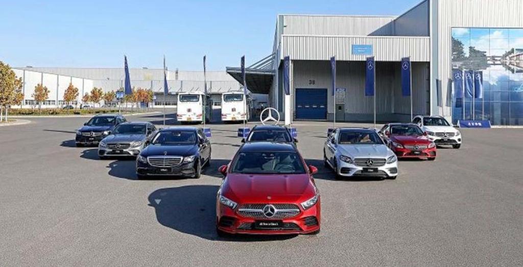 Китайский автопроизводитель BAIC купил 5% акций Mercedes Daimler