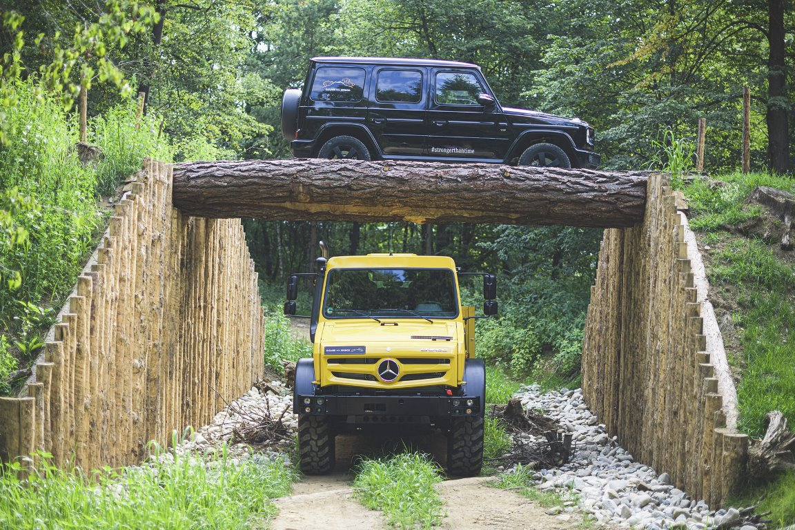 Mercedes производит Unimog уже более 70 лет