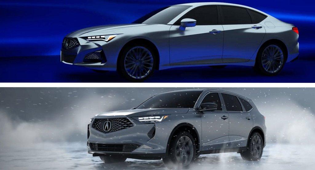 Новые модели Acura