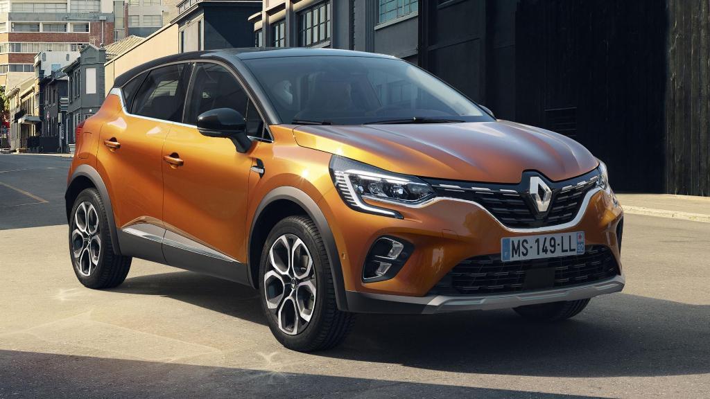 Обновленная версия Renault Captur