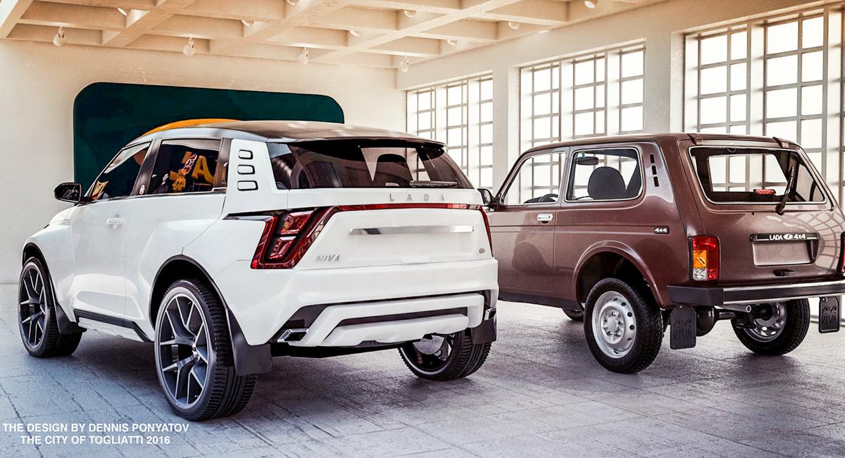 Lada представила концепт Niva California в 2018 году