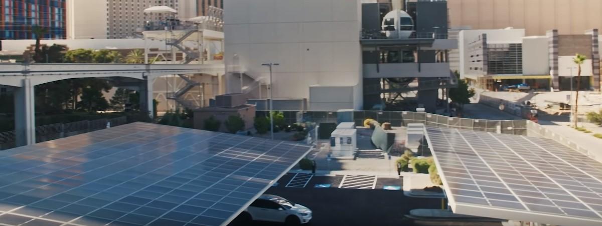 Tesla открыла заправку будущего прямо в сердце Лас-Вегаса